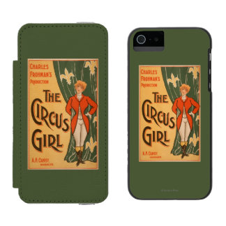The Circus Girl Theatrical Poster #1 Incipio Watson™ iPhone 5 Wallet Case