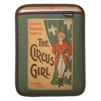 The Circus Girl Theatrical Poster #1 iPad Sleeves