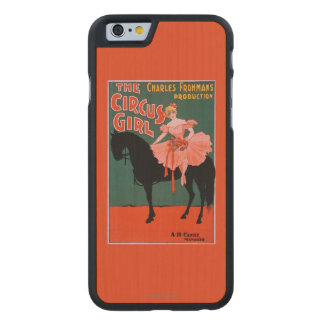 The Circus Girl - Woman on Horse Theatrical Carved® Maple iPhone 6 Slim Case