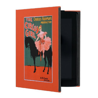 The Circus Girl - Woman on Horse Theatrical Covers For iPad