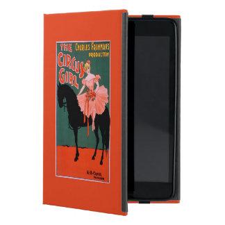 The Circus Girl - Woman on Horse Theatrical iPad Mini Case