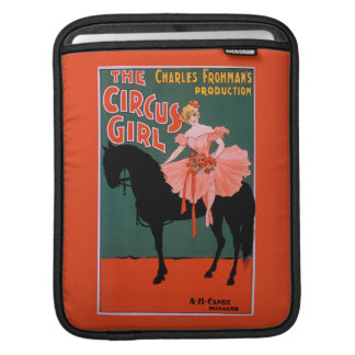 The Circus Girl - Woman on Horse Theatrical iPad Sleeve