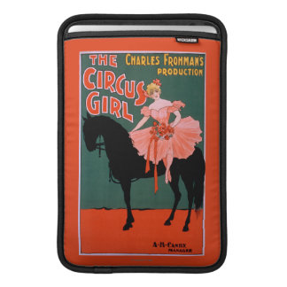 The Circus Girl - Woman on Horse Theatrical MacBook Sleeve