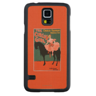 The Circus Girl - Woman on Horse Theatrical Maple Galaxy S5 Case