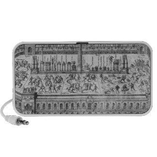 The Circus Maximus in Rome, c.1600 Laptop Speakers