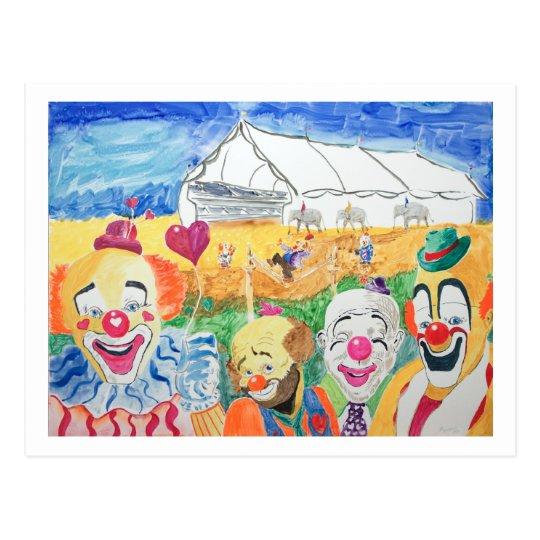 The Circus Postcard