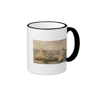 "The Citadel of Cairo, from ""Egypt and Nubia"" Ringer Mug"