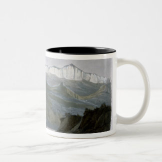 The Citadel Rock on the Upper Missouri, plate 18 f Two-Tone Coffee Mug