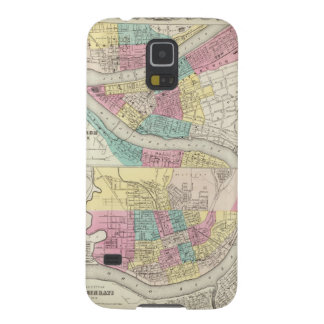 The Cities Of Pittsburgh Allegheny Cincinnati Galaxy S5 Cover