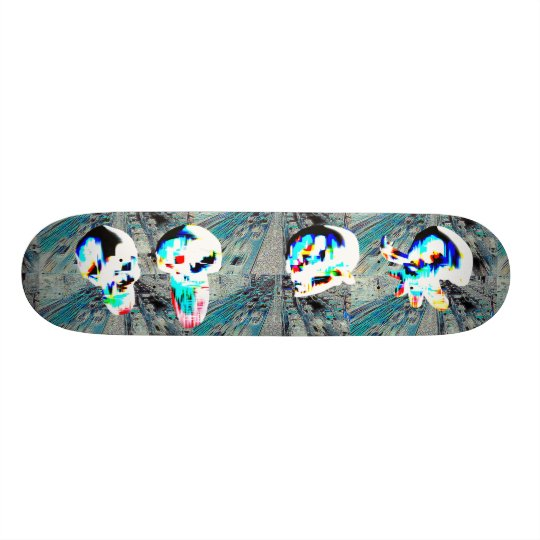 The City 20.6 Cm Skateboard Deck