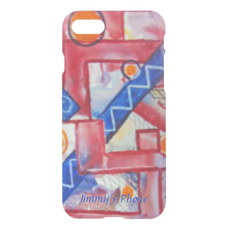 The City Abstract Watercolor Your Name iPhone 8/7 Case