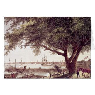 The City and Port of Philadelphia, from Card
