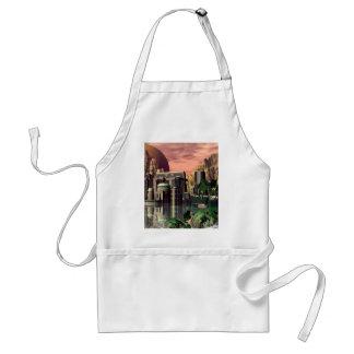 The city apron