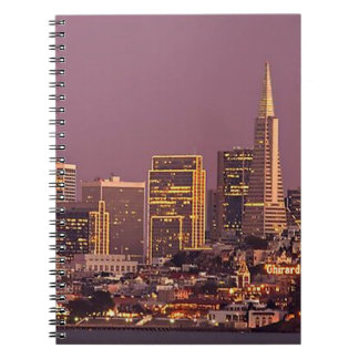 The City by the Bay Spiral Notebook