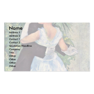 """The City Dance, English, """"Dance In The City"""" Pack Of Standard Business Cards"""