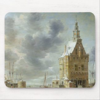 The City Gate of Hoorn Mouse Mat