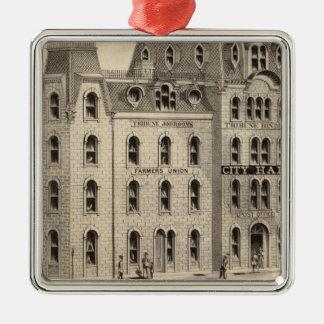 The City Hall of Minneapolis, Minnesota Christmas Ornament