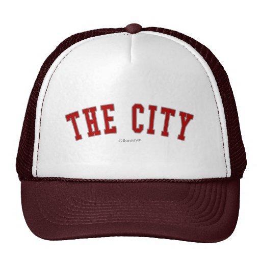 The City Mesh Hats