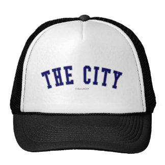 The City Mesh Hat