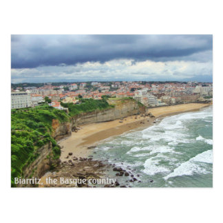 The city of Biarritz - A panoramic view Postcard