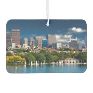 The city of Boston and Charles river Car Air Freshener