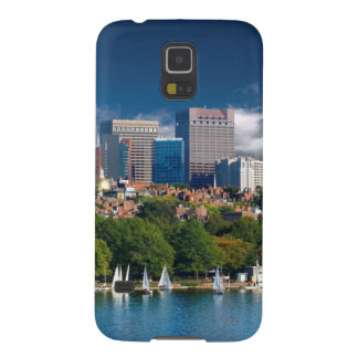 The city of Boston and Charles river Galaxy S5 Case