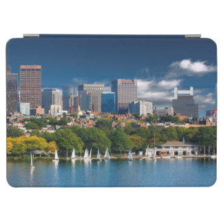 The city of Boston and Charles river iPad Air Cover