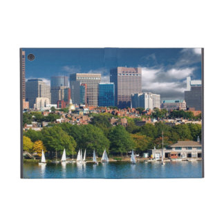 The city of Boston and Charles river iPad Mini Case