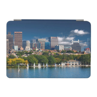 The city of Boston and Charles river iPad Mini Cover
