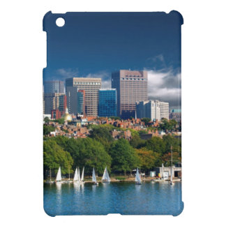 The city of Boston and Charles river iPad Mini Covers