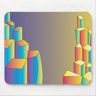 The City of Dimension and Dawn Mousepads