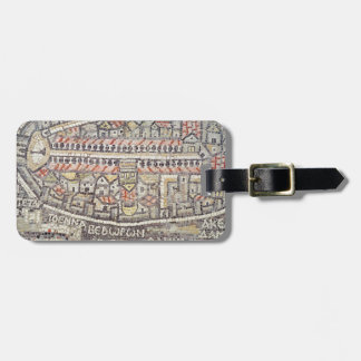 The City of Jerusalem and the surrounding area Luggage Tag