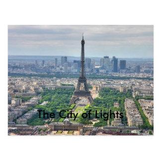 The City of Lights Postcard