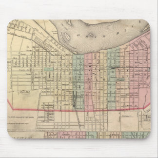 The City of Louisville, Kentucky Mouse Mat