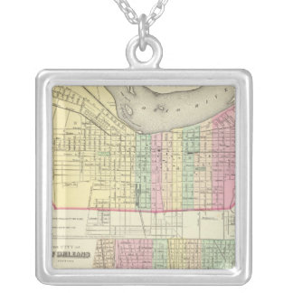 The City Of Louisville Kentucky Silver Plated Necklace