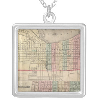 The City of Louisville, Kentucky Silver Plated Necklace