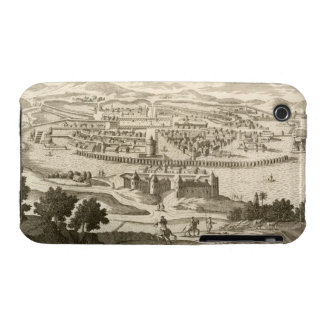 The City of Mexico, 1723 (engraving) iPhone 3 Case