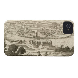 The City of Mexico, 1723 (engraving) iPhone 4 Case-Mate Case