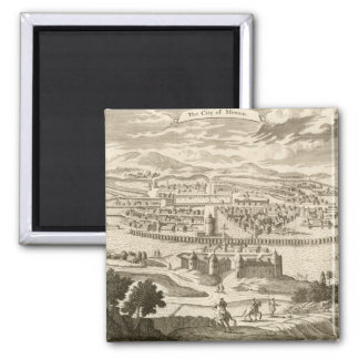 The City of Mexico, 1723 (engraving) Magnet