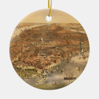 The City of New York, 18 Christmas Ornament