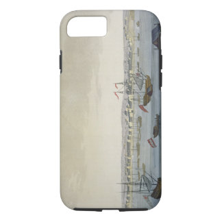The City of Paramaribo (colour engraving) iPhone 8/7 Case