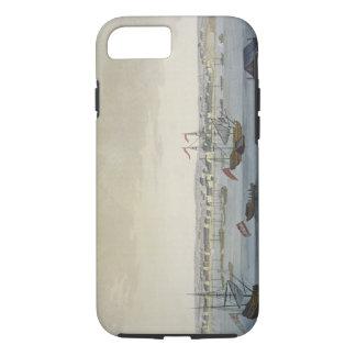 The City of Paramaribo (colour engraving) iPhone 8/7 Case