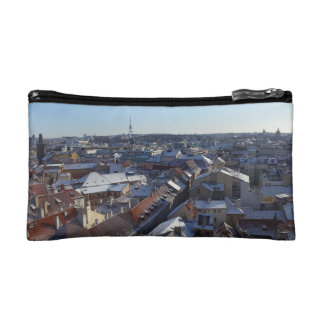 The City of Prague Cosmetic Bag