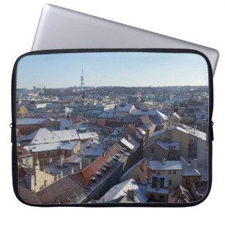 The City of Prague Laptop Sleeve