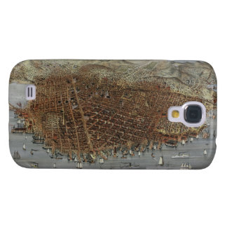 The City of San Francisco California from 1878 Galaxy S4 Case