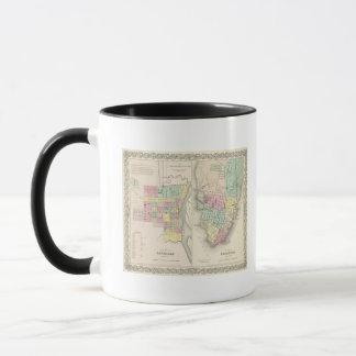 The City Of Savannah Georgia Mug