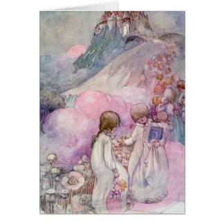 The City of Sleep - Children's Illustration Greeting Card
