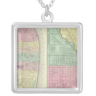 The City Of St Louis Missouri Silver Plated Necklace