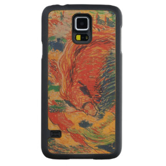 The City Rises, 1911 (tempera on card) Carved Maple Galaxy S5 Case