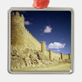 The city walls christmas ornament